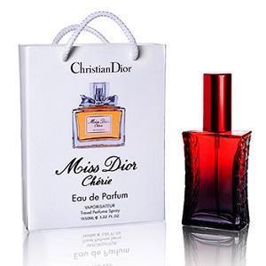 Фото Парфюмы в подарочной упаковке. 50мл, Женские Christian Dior Miss Dior Cherie в подарочной упаковке 50 ml