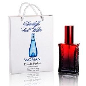 Фото Парфюмы в подарочной упаковке. 50мл, Женские Davidoff Cool Water Woman в подарочной упаковке 50 ml