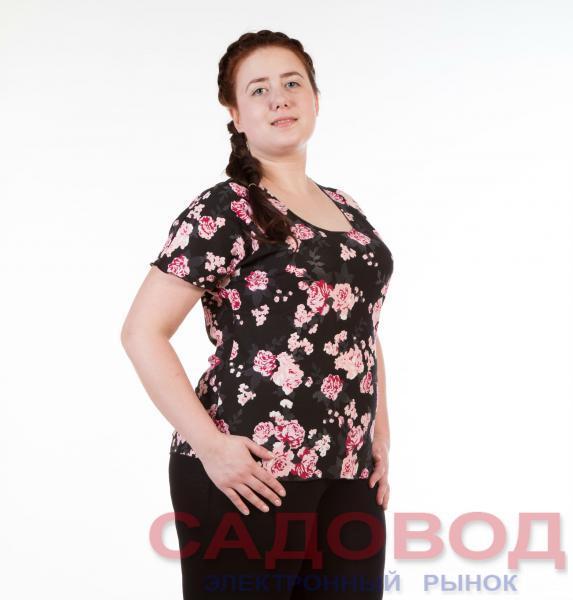 Блузка женская М-02 Блузки и туники женские на рынке Садовод