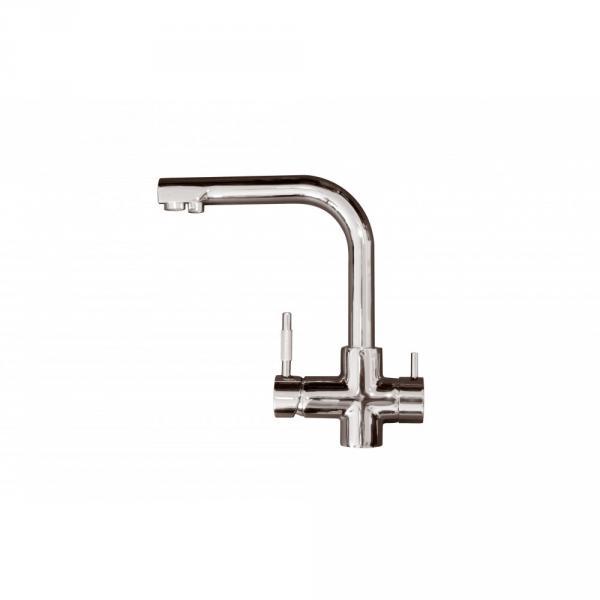 Смеситель кухонной мойки с отдельным выходом под фильтр (GF-08)