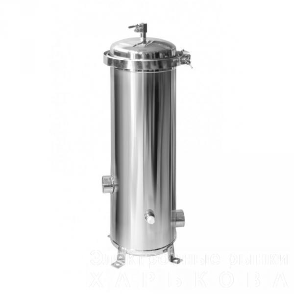 Мультипатронный фильтр S/S - 3*20 (нержавеющая сталь) - Дымоходы и комплектующие на рынке Барабашова