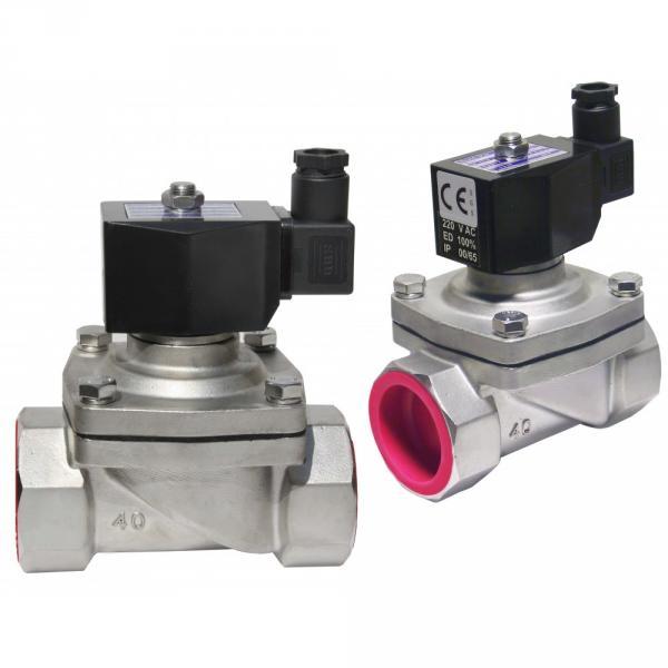"Соленоидный электромагнитный клапан нерж SPF-23 1/5"" 220V 2w-400-40"