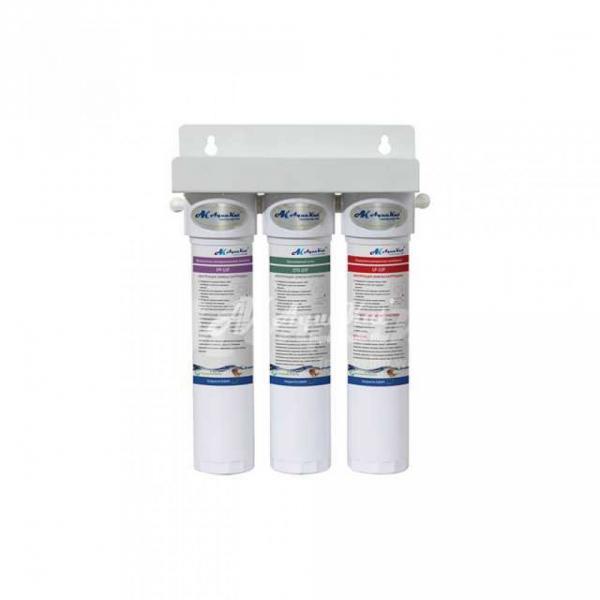 Фильтр трёхступенчатый с ультрафильтрационной мембраной быстросьёмные картриджи FP-3FF-UF