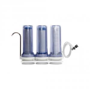 Фото Фильтры для воды проточного типа Фильтр на мойку трехступенчатый FN-3