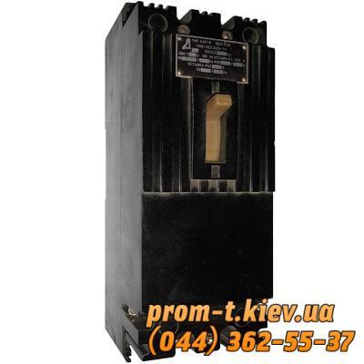 Фото Автоматические выключатели для защиты от перегрузок и короткого замыкания электрической цепи, Автоматический выключатель серии А Автомат А 3716