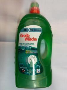 гелевый порошок для стирки универсальный GROBE WASHE, 5,65 литра.