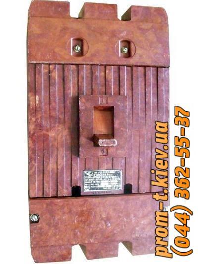 Фото Автоматические аппараты для защиты от перегрузок и короткого замыкания электрической цепи, Автоматический выключатель серии А Автомат А 3792