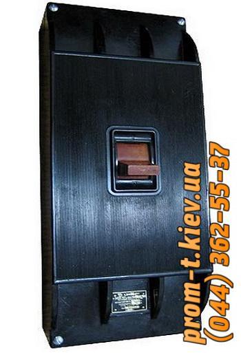 Фото Автоматические аппараты для защиты от перегрузок и короткого замыкания электрической цепи, Автоматический выключатель серии А Автомат А 3144