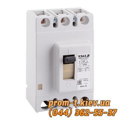 Фото Автоматические выключатели для защиты от перегрузок и короткого замыкания электрической цепи, Автоматический выключатель серии ВА Автомат ВА 04-36