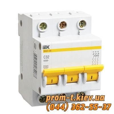 Фото Автоматические выключатели для защиты от перегрузок и короткого замыкания электрической цепи, Автоматический выключатель серии ВА Автомат ВА 47-29