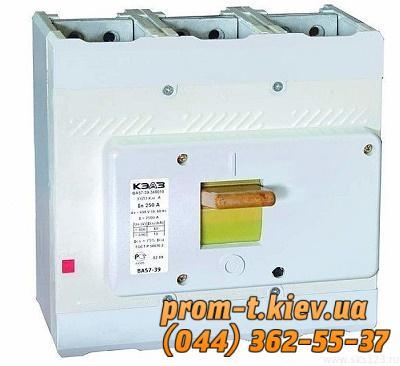 Фото Автоматические выключатели для защиты от перегрузок и короткого замыкания электрической цепи, Автоматический выключатель серии ВА Автомат ВА 51-39