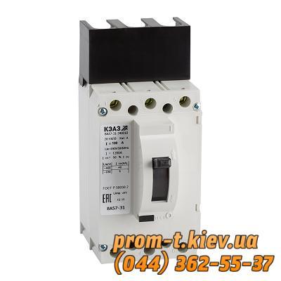 Фото Автоматические выключатели для защиты от перегрузок и короткого замыкания электрической цепи, Автоматический выключатель серии ВА Автомат ВА 57-31