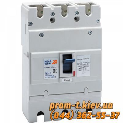 Фото Автоматические выключатели для защиты от перегрузок и короткого замыкания электрической цепи, Автоматический выключатель серии ВА Автоматический выключатель OptiMat E250