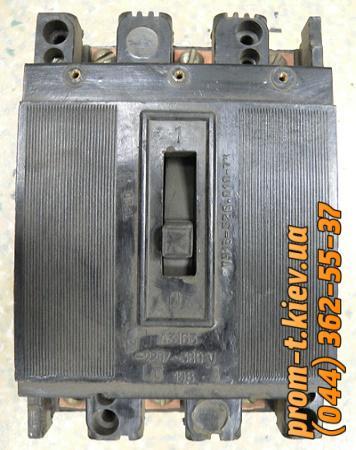 Фото Автоматические выключатели для защиты от перегрузок и короткого замыкания электрической цепи, Автоматический выключатель серии А  Автомат А 3163