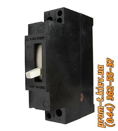 Фото Автоматические аппараты для защиты от перегрузок и короткого замыкания электрической цепи, Автоматический выключатель серии АЕ Автомат АЕ-1031
