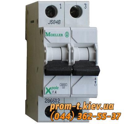 Фото Автоматические аппараты для защиты от перегрузок и короткого замыкания электрической цепи, Автоматический выключатель Moeller, Schneider Еlectric Автомат  PL4-C10/2