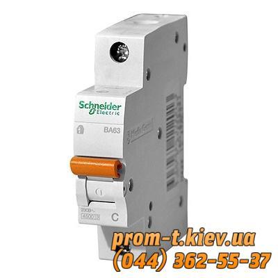 Фото Автоматические выключатели для защиты от перегрузок и короткого замыкания электрической цепи, Автоматический выключатель Moeller, Schneider Еlectric Автомат ВА63 1P 20A C