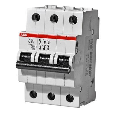 Автомат ABB SH203 C6 3p 6А