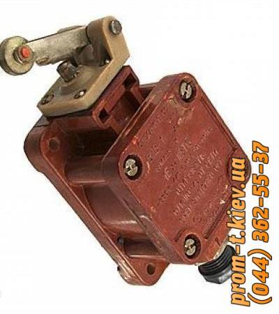 Фото Выключатели концевые, путевые, переключатели, посты кнопочные, кнопки, тумблеры, Выключатель ВПВ Выключатель ВПВ-1