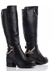 Фото Зимняя обувь Зимние высокие сапоги