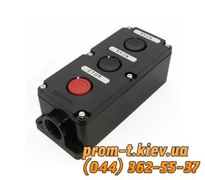 Фото Выключатели концевые, путевые, переключатели, посты кнопочные, кнопки, тумблеры, Пост кнопочный ПКЕ Пост кнопочный ПКЕ 212-3