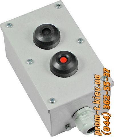 Фото Выключатели концевые, путевые, переключатели, посты кнопочные, кнопки, тумблеры,  Пост кнопочный ПКУ Пост кнопочный ПКУ 15-21-121