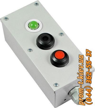 Фото Выключатели концевые, путевые, переключатели, посты кнопочные, кнопки, тумблеры,  Пост кнопочный ПКУ Пост кнопочный ПКУ 15-21-131