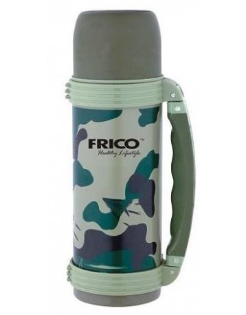 Термос из нерж. стали с ручкой FRICO объем 1,2 л. FRU-244