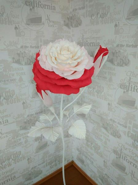 Абстрактная роза