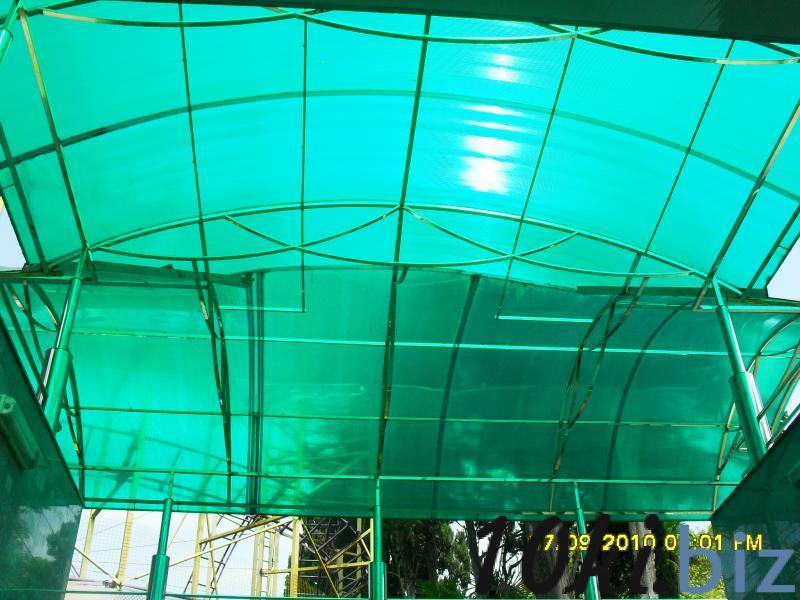 Поликарбонат сотовый и монолитный со склада