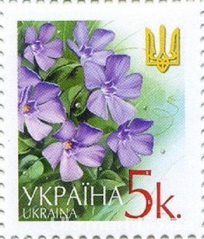 2002 № 429 почтовая марка 6-ой Стандарт Цветы 0-05