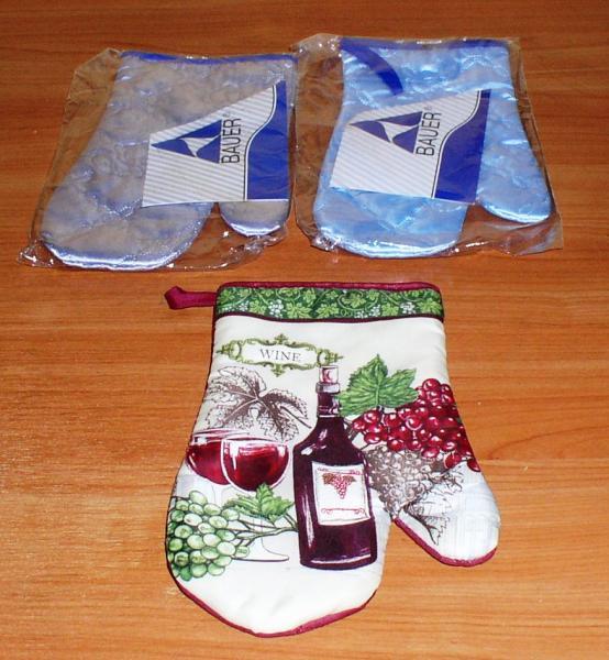 Прихватки-рукавицы для горячего *6752