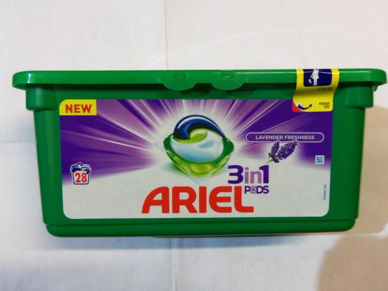капсулы для стирки цветного белья ARIEL, 28 штук.