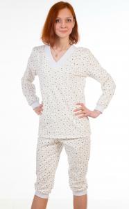 Фото  Пижама женская М-14 с бриджами