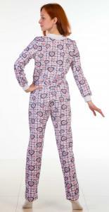 Фото  Пижама женская М-14 с брюками