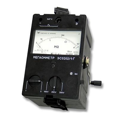 Мегаомметр ЭС0202/1Г (2Г)