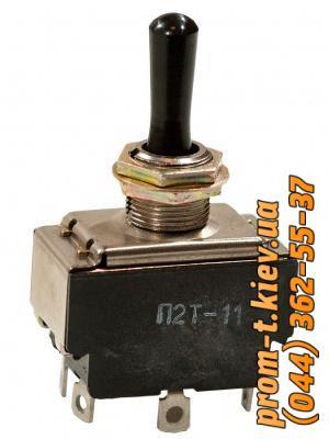 Фото Выключатели концевые, путевые, переключатели, посты кнопочные, кнопки, тумблеры, Тумблер П2Т Тумблер П2Т-11