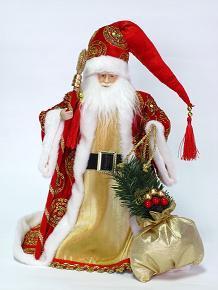 """Игрушка """"Дед Мороз"""" Красный"""