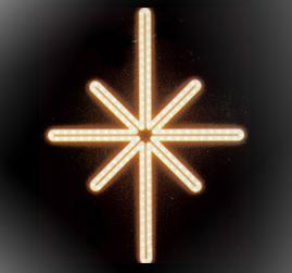 Мотив «Полярная звезда» 50x38см