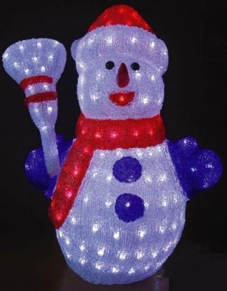 Акриловая фигура «Снеговик»