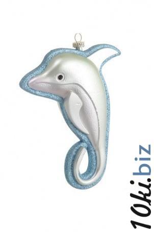 Новогоднее крашение Дельфин Елочные игрушки купить на рынке Дубровка
