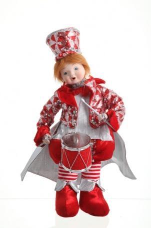 """Украшение """"Кукла"""" 43 см. (подвижная, музыкальная)"""