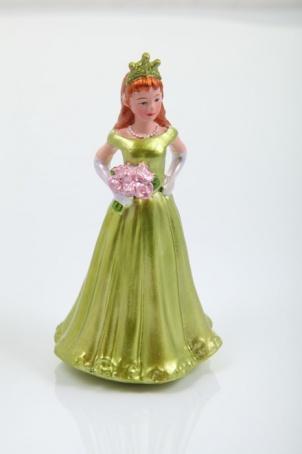 """Украшения """"Девушка с короной и цветами"""" 10,5 см."""
