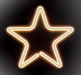 Мотив «Звезда» 43см
