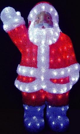Акриловая фигура «Дед мороз»