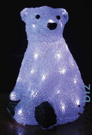 Акриловая фигура «Полярный мишка» Обьемные акриловые светодиодные фигуры в Москве