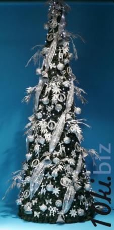 Серебряные браслеты - Комплект украшений  Конус украшенный 250 см Серебряная Сказка