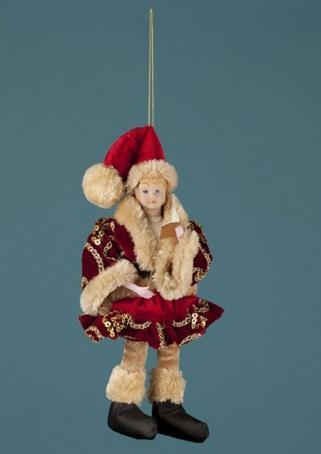 """Украшение """"Веселая Кукла"""" 41 см."""