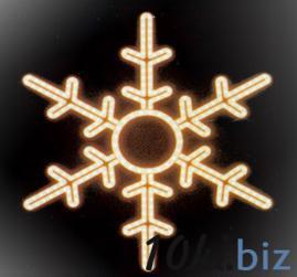 Мотив «Снежинка» 53см Обьемные акриловые светодиодные фигуры в Москве