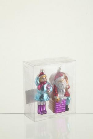 """Набор украшений """"Санта и Мальчик"""